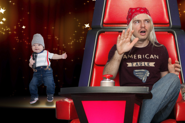 Movember 2016 Day 9: The Voice Baby (Judge Blondie featuring TJ)